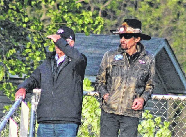 Richard Petty attends St. Pauls-Randleman game