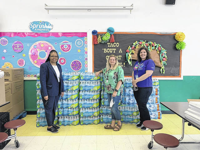 Bethany Presbyterian on a mission to get bottles of water to Rowland Norment Elementary