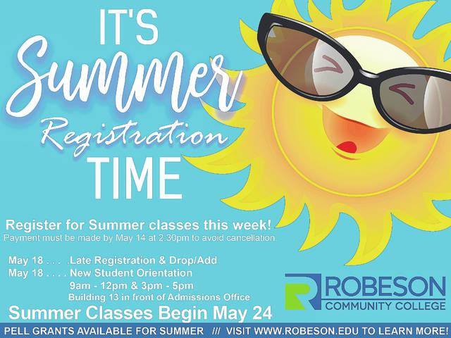 Rcc Academic Calendar 2022.Summer 2021 Registration Happening Now At Rcc Robesonian