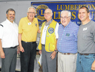 Lions Club recognizes members for 180 years of service