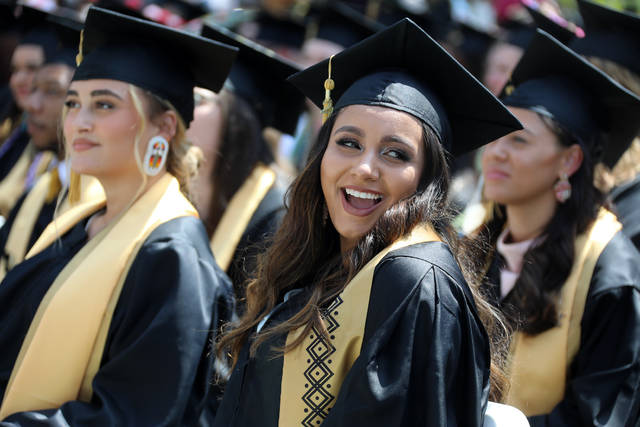 1,046 cross the stage at UNCP's 2021 graduation