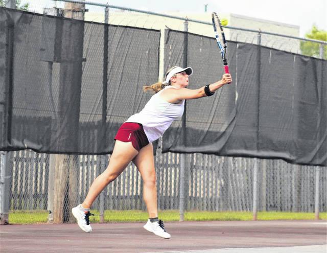Undermanned Lumberton tennis team steps up, beats Purnell Swett