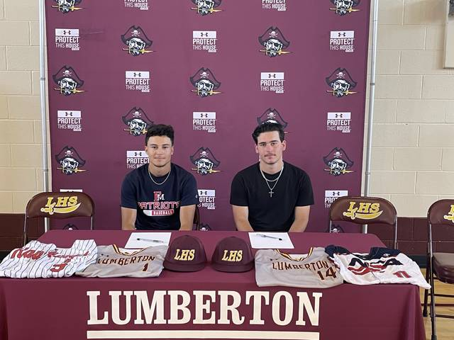 Two Pirates sign to play college baseball