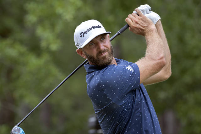 Dustin Johnson gets off to a fast start in home-state Palmetto Championship