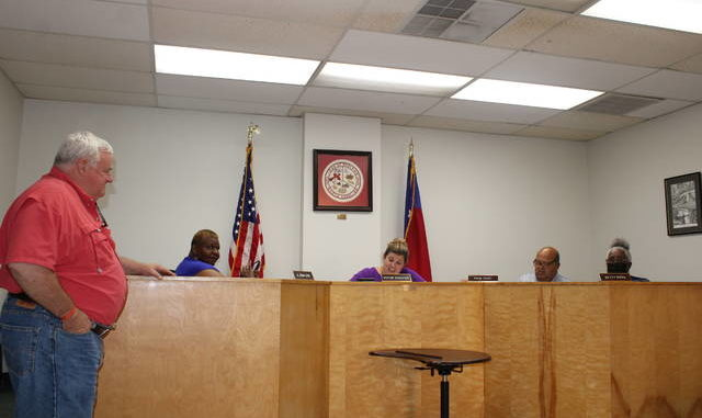 The Rowland Board of Commissioners approved a $1.7 million spending plan, presented by Town Clerk David Townsend, during the workshop meeting held Wednesday.                                  Tomeka Sinclair | The Robesonian
