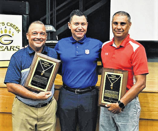Local officials Maynor, Lowery honored for service
