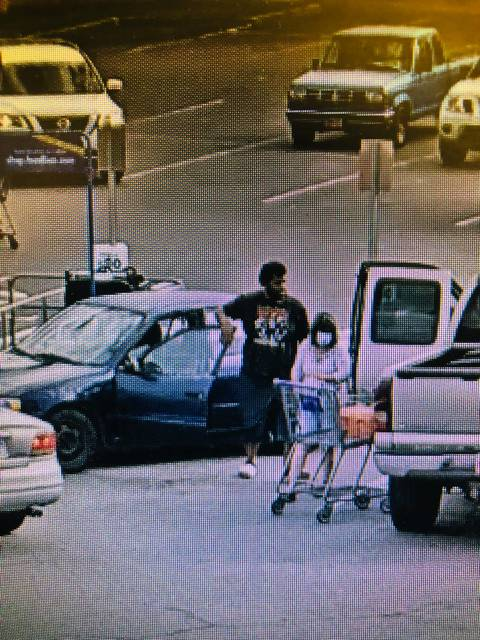 <p>Police are searching for the man shown in connection with the theft of a purse in June. Anyone with information about the man's identity or his whereabouts is asked to call the Lumberton Police Department at 910-671-3845 and ask to speak with Detective McMillan.</p>