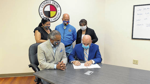 Small Business Administration grants Lumbee Tribe Holdings Inc. 8(a) status
