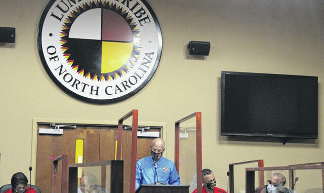 The Lumbee Tribal Council approved a $26.7 million budget for the 2021-21 fiscal year during a business meeting on Thursday.                                  Tomeka Sinclair | The Robesonian
