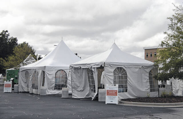 COVID testing site opens Wednesday at Southeastern Health Park