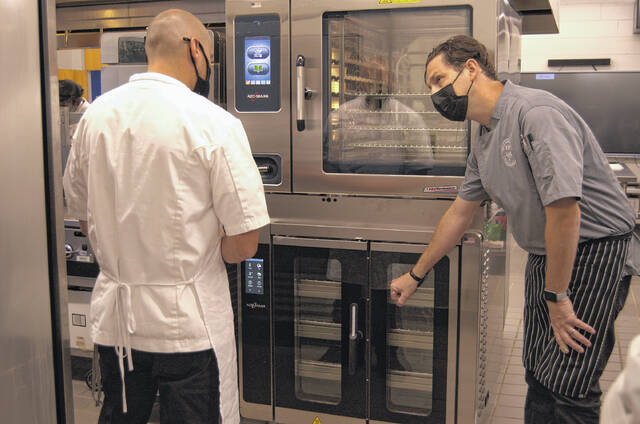 Robeson Community College students, faculty schooled on use of new kitchen equipment