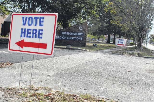 Robeson County early voting is off to a slow start
