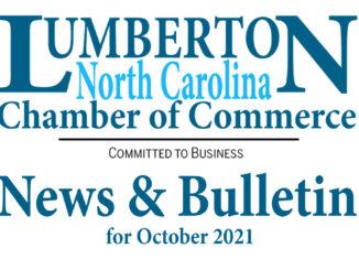 Lumberton Chamber of Commerce Newsletter for October 2021